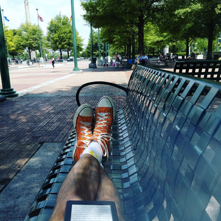 reading-at-the-park-on-bench