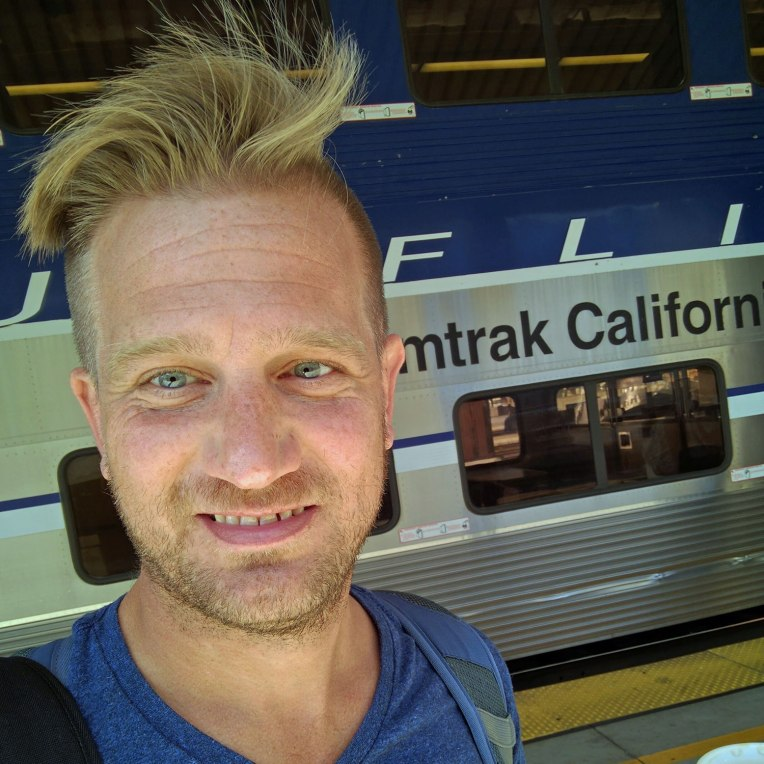 Amtrak hair... don't care :P