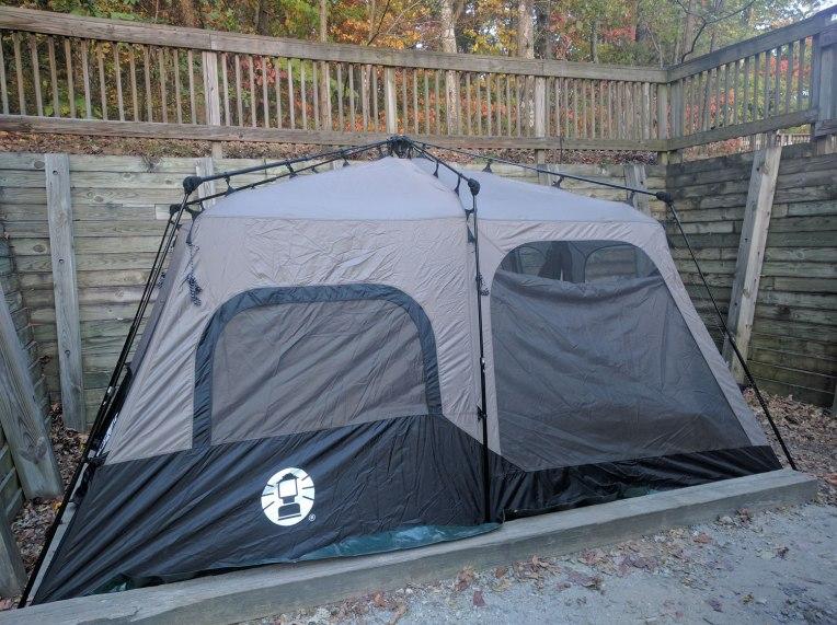 tent-setup-amicalola-falls